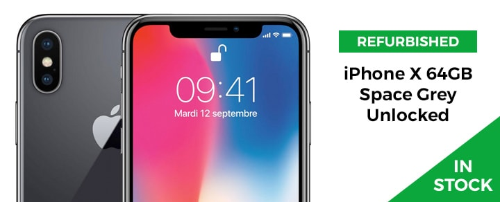 Advert 4 - iPhone X 64GB Space Grey